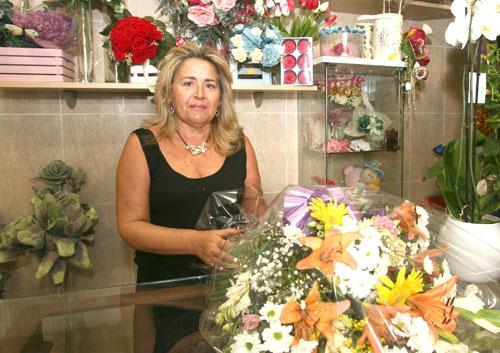Mamen Arenas. Floristería Los Ángeles
