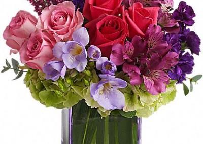 Te enviamos tus flores a domicilio